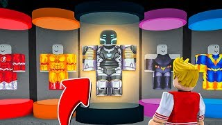 NEW SUPER HERO OF THE FUTURE ADDED IN ROBLOX! (Mad City)