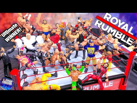 WWE ROYAL RUMBLE ACTION FIGURE MATCH!