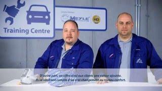 Les mécaniciens MEYLE : reconnaître les supports de moteur défectueux