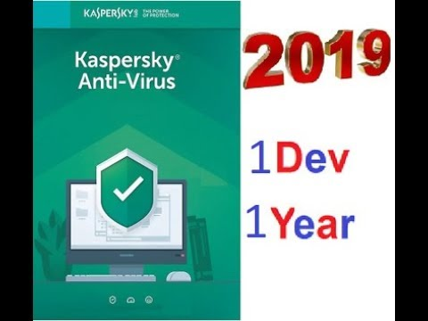 Kaspersky Antivirus 2019 Free for 365 days