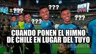 Los Memes Que Dejo El Fallido Himno De Uruguay | Chile | Copa América Centenario | 2016
