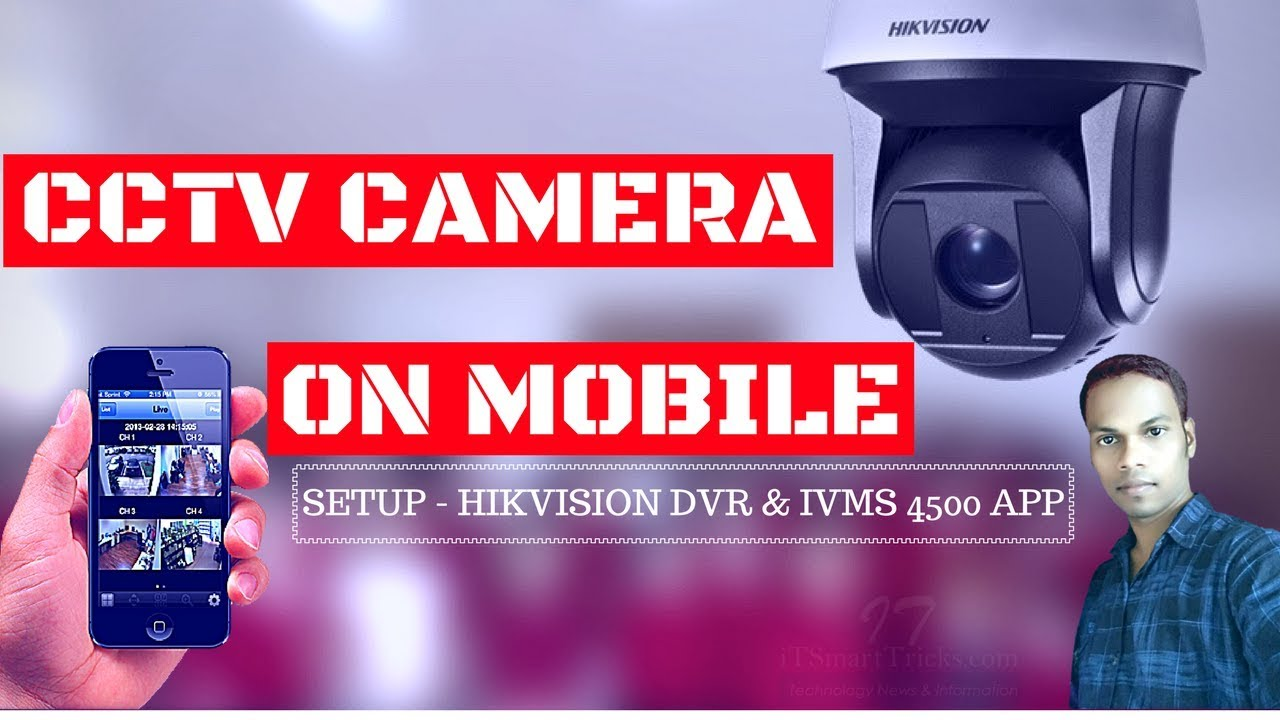 How to configure Hikvision DVR and view live CCTV camera footage online on  mobile In Hindi