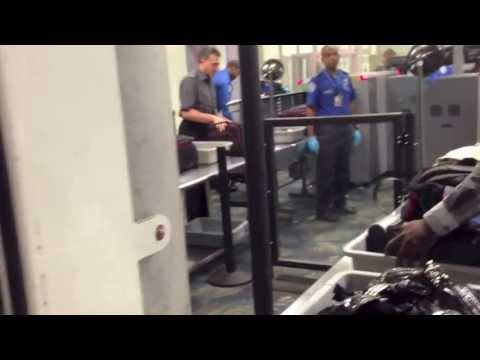 Testing TSA security in Fort Lauderdale