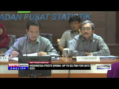 Indonesia Posts $950 Million Trade Surplus in May
