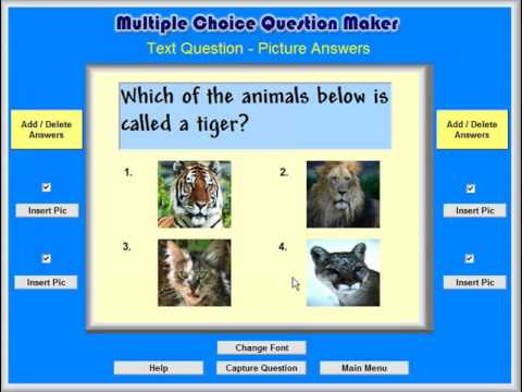 Tutorial 5 - The Categories Game Maker - The Multiple Choice Question Maker