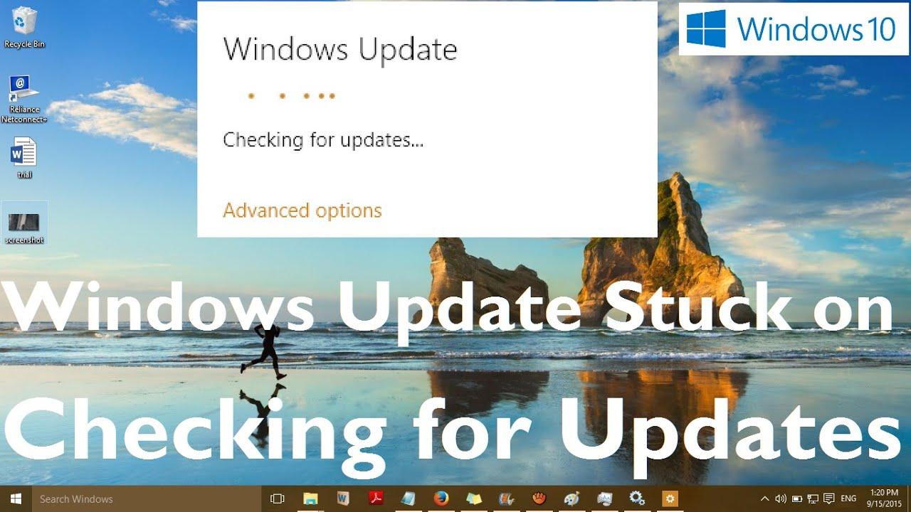 How to fix windows 8. 1 update hanging super user.