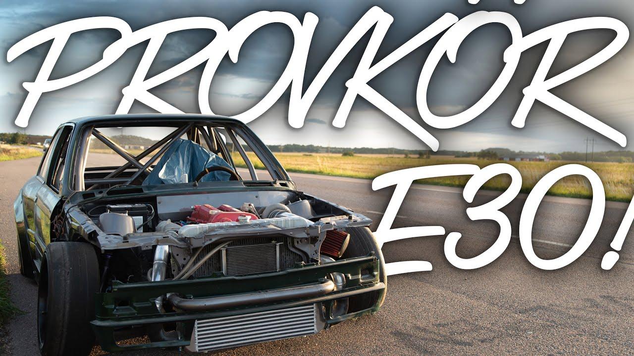 Kör E30'n För Första Gången!