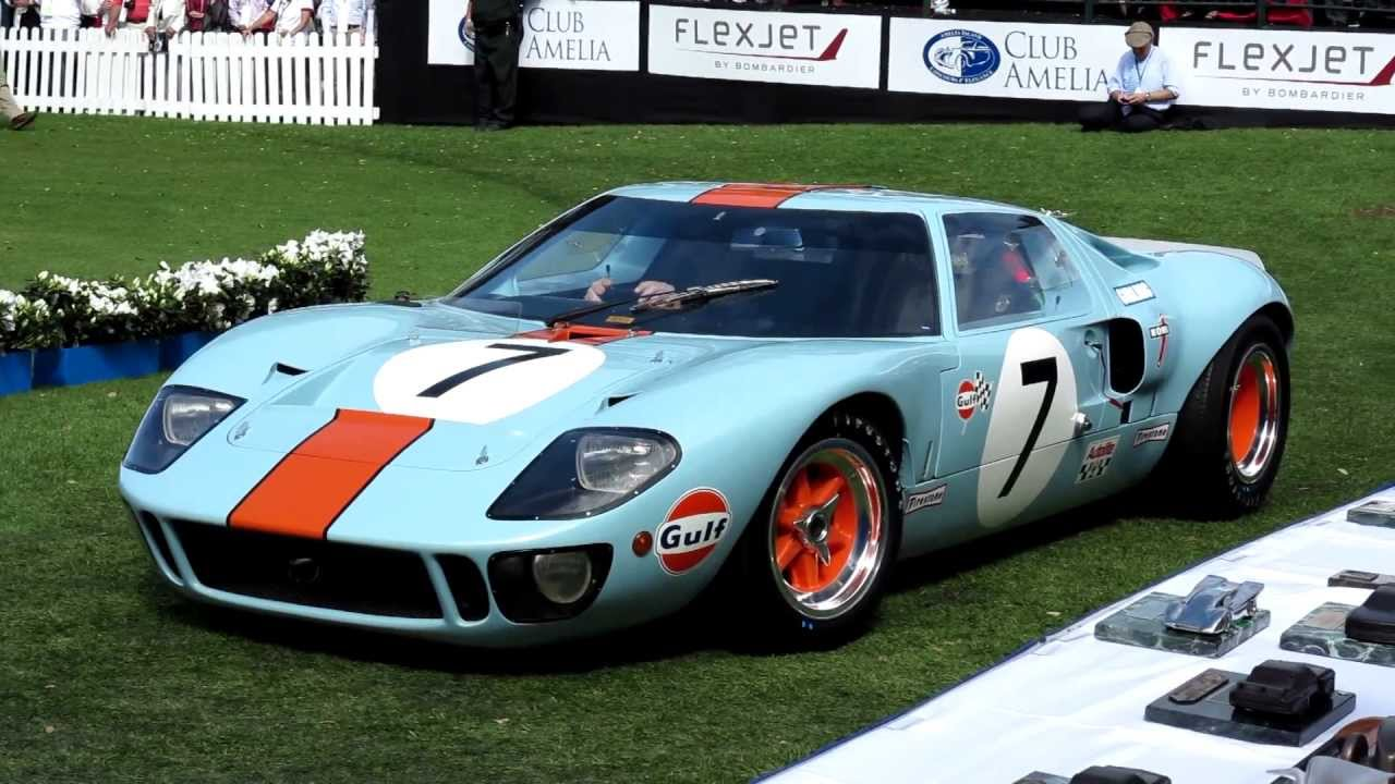 1968 ford gt40 mk1 youtube