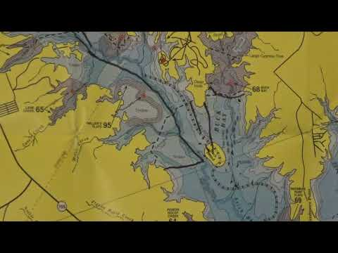 Sam Rayburn Bass Fishing Navigational Guide & Fishing Tips Video 2