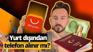 AliExpress'ten telefon almayı denedik! - Yurt dışından telefon almak mantıklı mı?