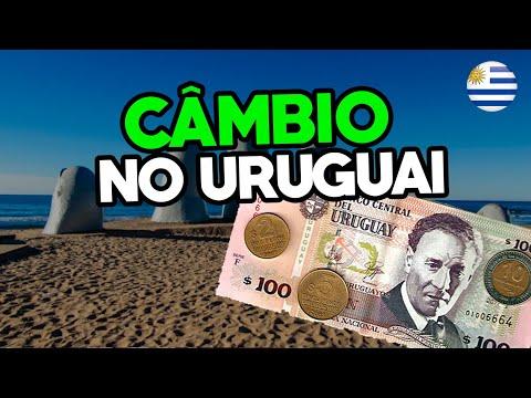 Câmbio no Uruguai - Punta del Este e Montevidéu