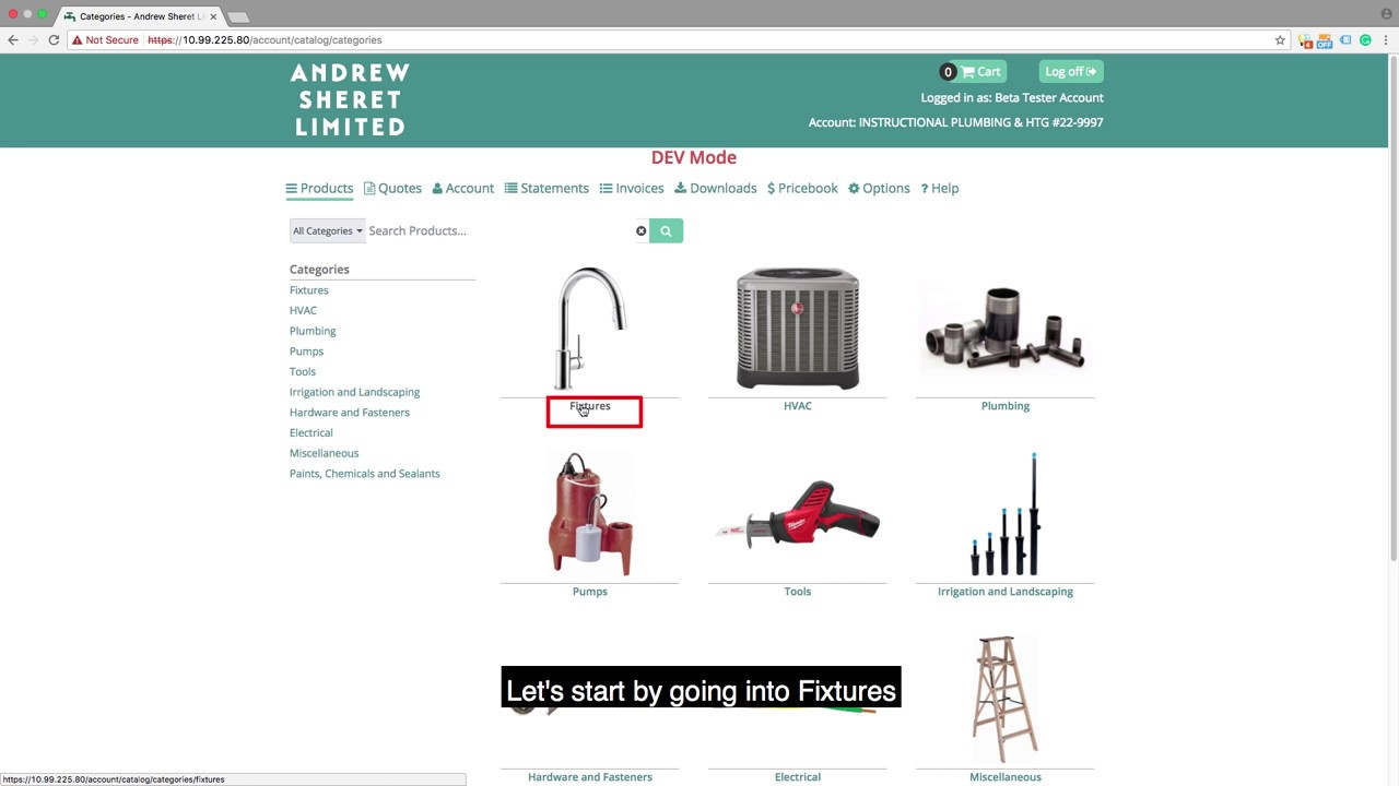 Order Online Through Andrew Sheret Limited Portal | Heating ...