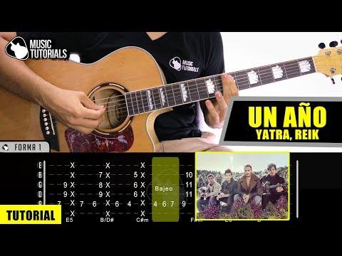 Cómo tocar Un Año de Sebastián Yatra, Reik en Guitarra | Tutorial + PDF GRATIS