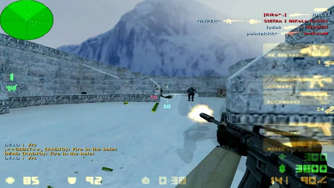 fy snow cs 1.6