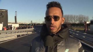 Motorsport meets Sindelfingen 2016 - Interviews with Lewis Hamilton | AutoMotoTV