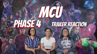 MCU Phase 4 Trailer - Reaction and Review - Eternals and Black Panther - Wakanda Forever Teasers