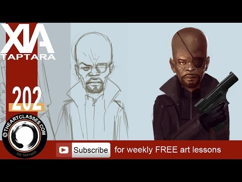 drawing-portrait-and-character-tutorial-nick-fury
