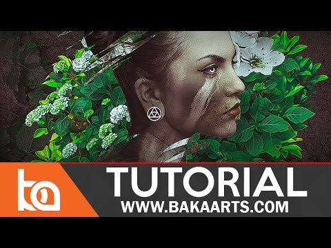 Beginner Photoshop Photomanipulation Tutorial - Mother Nature