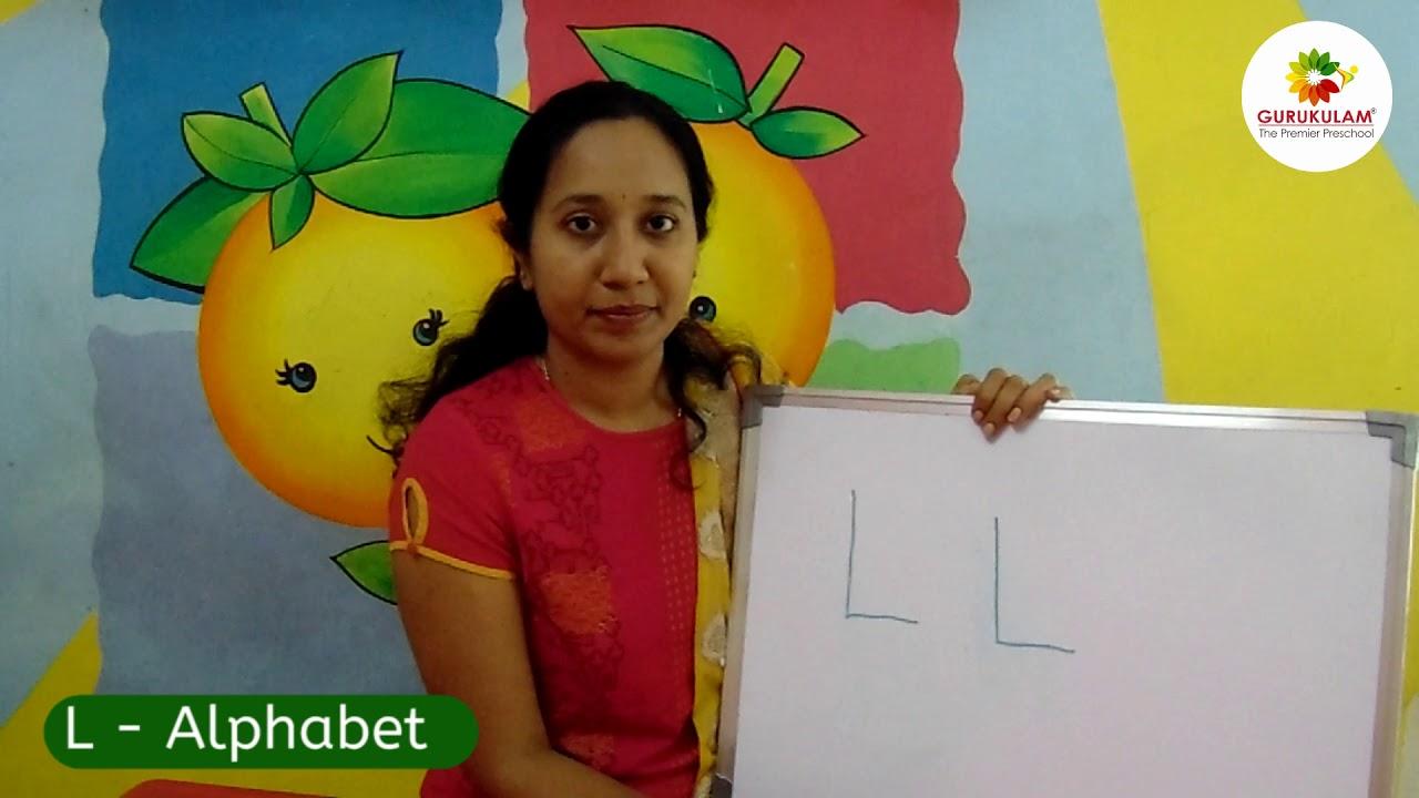 Gurukulam   Homeschooling   L - Alphabet