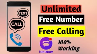 How to get unlimited free USA UK number & Free calling  #unlimitednumber #technologytrickasha screenshot 2