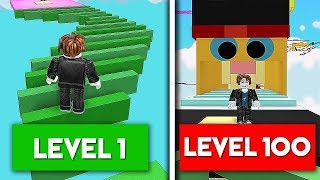 100 LEVELS IN 1 VIDEO! (ROBLOX SUPER PARKOUR OBBY)