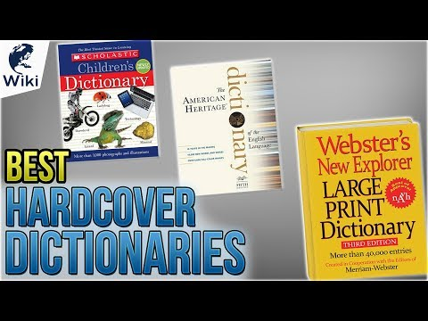 10 Best Hardcover Dictionaries 2018