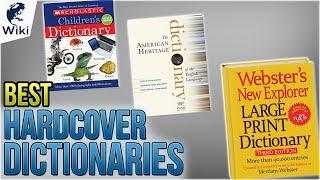 10 Best Hardcover Dictionaries 2018