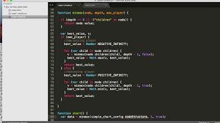 JavaScript minimax decision algorithm in 8 min