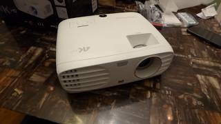 IT IS HERE!:) My ViewSonic PX747- 4K Ultra HD DLP 3500 lumens HDR price under $1,300