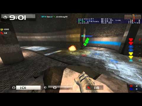 Quake Live: Quake Live: CTF - V1R7U4L vs XFX - Siberia (2009) - 1666 Points Score