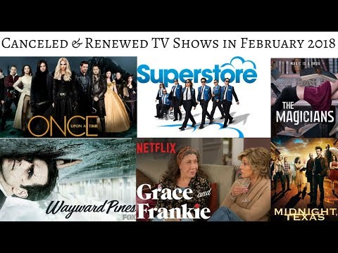 TV Shows canceled & renewed in February 2018 #TVNews