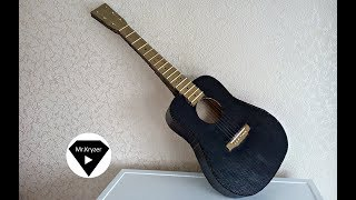 How to make a guitar from cardboard?