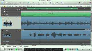 Apple Logic Tutorial - Fix pitch timing of your Vox and Guitars