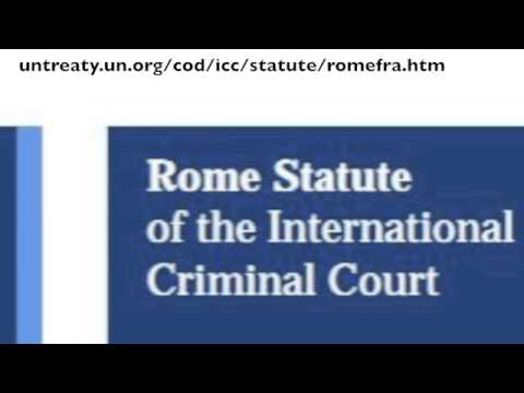 Supporting the International Criminal Court