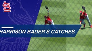 Harrison Bader Makes Identical Diving Catches Against the Nats