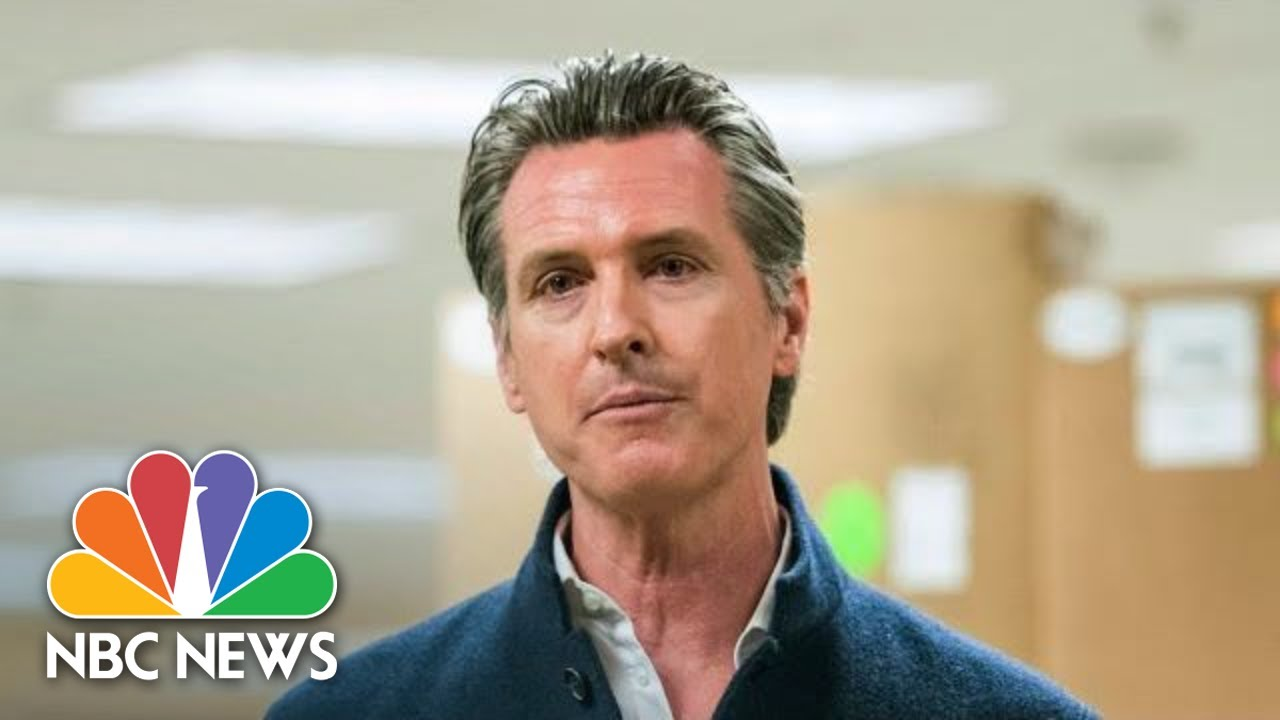 Live: California Gov. Newsom Gives Update On Coronavirus Response | NBC News