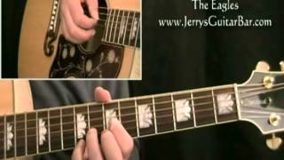 How to Play The Eagles Bitter Creek (intro only)