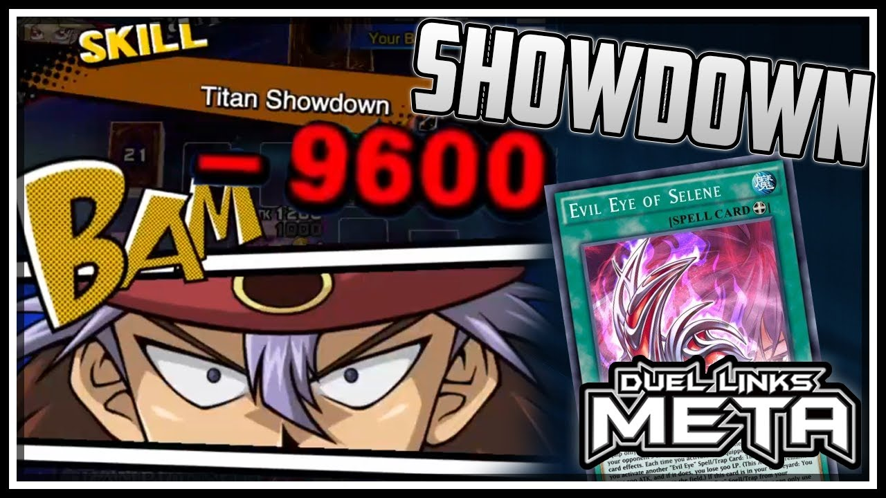 Titan Showdown Evil Eye! Over 9000 Damage! [Yu-Gi-Oh! Duel Links]