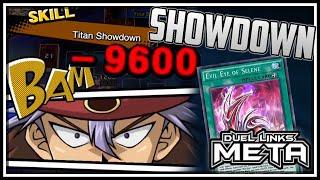 Titan Showdown Evil Eye! Over 9000 Damage! [Yu-Gi-Oh! Duel Links]