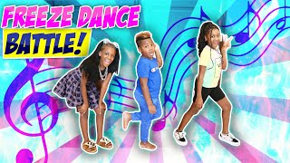 Epic Freeze Dance Battle Ft Karissa And Dj