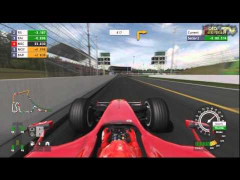Formula One Championship PS3 - Michael Schumacher Onboard Race on Hockenheim