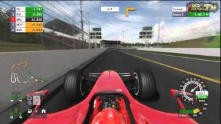 Formula One Championship PS3 - Michael Schumacher Onboard Race on Hockenheim