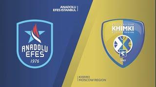 #EuroLeague 17. Hafta: Anadolu Efes - Khimki