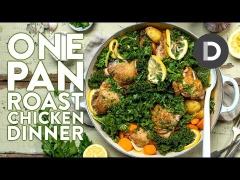 ONE PAN Chicken Dinner Recipe!