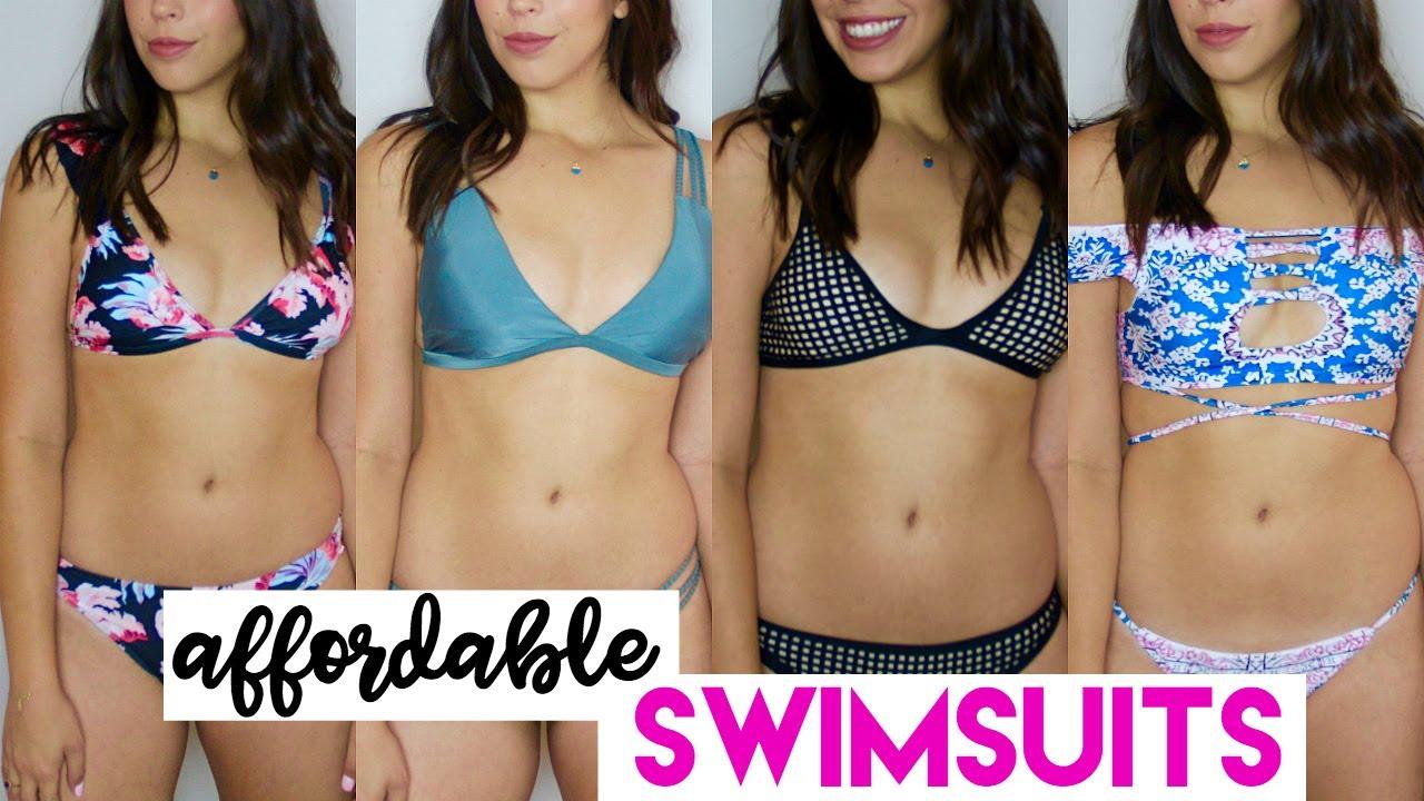 2017 On Review Swimsuit Bikini Try Affordable HaulZaful iXZuPk