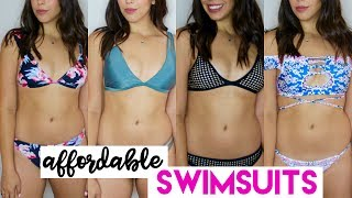 AFFORDABLE BIKINI TRY ON HAUL! Zaful Swimsuit Review 2017