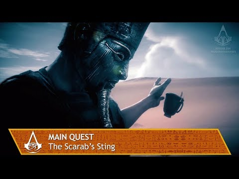 Assassin's Creed Origins - Main Quest - The Scarab's Sting