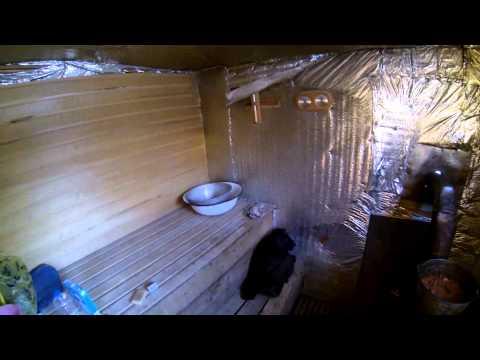 видео: Простейшая баня за 4 тыс рублей