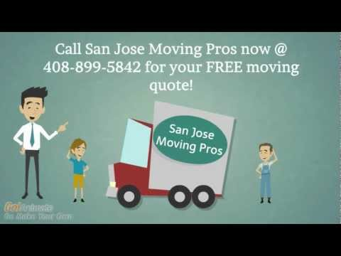 Movers San Jose   San Jose Moving Pros 408-899-5842