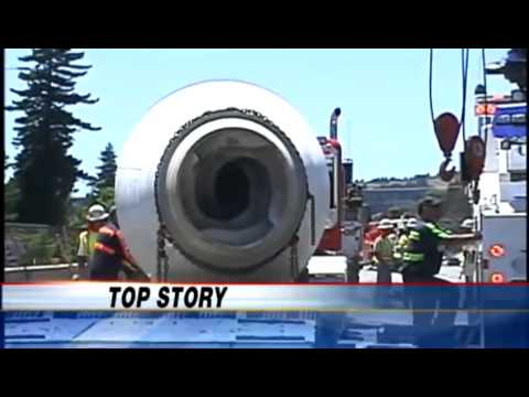 Highway 1 in Santa Cruz fully reopens after cement truck crash